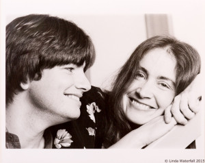 1982—Linda with Scott Nygaard, from publicity photo shoot