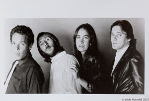1980—Linda's dream band: withGreg Pecknold, Donnie Teesdale and Dudley Hill