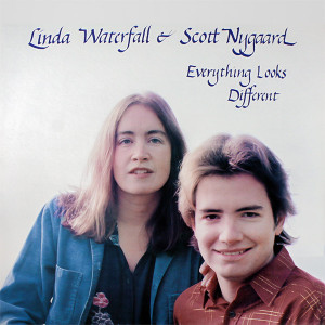 Cover from Linda Waterfall and Scott Nygaard's LP, Everything Looks Different