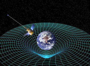 Einstein described how the curvature of space affects both gravity and time. The resulting earth-satellite time disparity mandates corrective adjustments by GPS systems. Photo by NASA.
